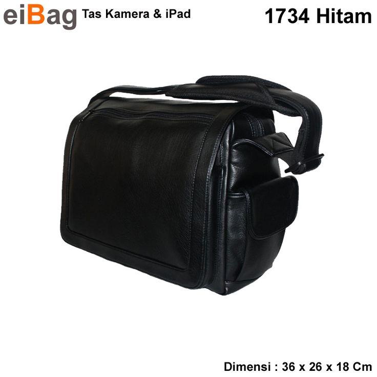 Tas kamera dan iPad dengan bahan semi kulit warna hitam yang berkualitas tinggi. Menggunakan sisitim insert case. Paket penjualannya sudah termasuk free raincover