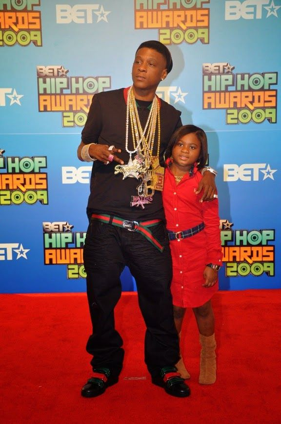 Lil Boosie's Daughter Rapping