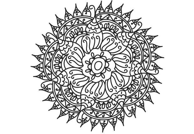 458 best coloriage dessin images on pinterest - Mandalas adultes gratuits ...