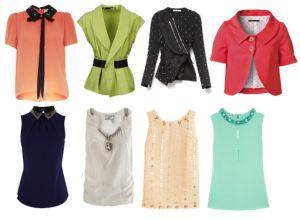 Sugerencias prendas superiores, respetar siempre el estilo que llevamos