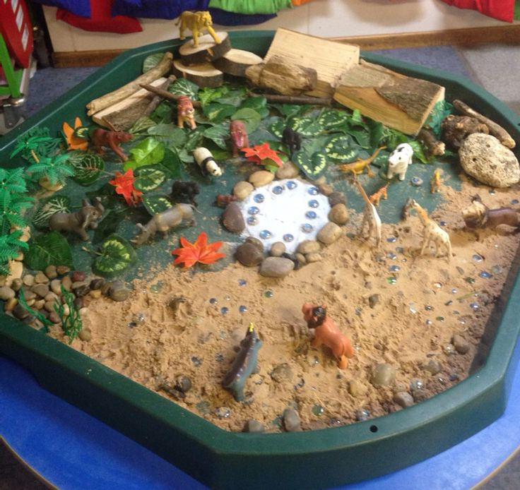 Eyfs safari small world