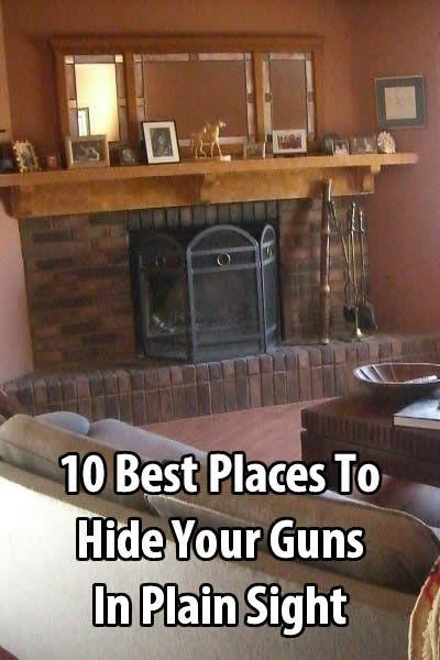10 Best Places to Hide Your Guns in Plain Sight Urban Survival Site