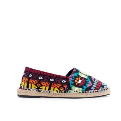 Image 1 of ETHNIC PATTERN ESPADRILLE SLIP-ONS from Zara