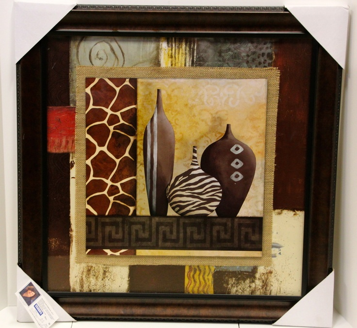 African Themed Wall Hanging Donated By Wanda Gauthreaux
