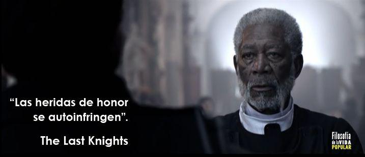 """""""Las heridas de honor se autoinfringen"""". Quien daña el honor de otro daña el propio."""
