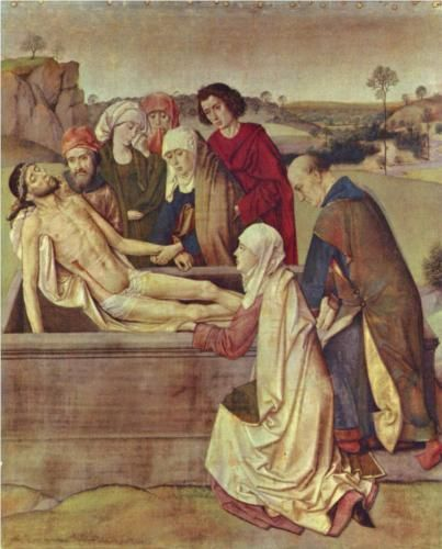 The Entombment - Dirk Bouts