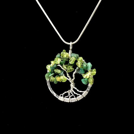 74 best tree of life gemstone necklace jewelry images on pinterest tree of life pendant gemstone tree of life silver tree jewelry necklace wire wrapped tree of life meaning emerald tree pendant 457343266 mozeypictures Image collections