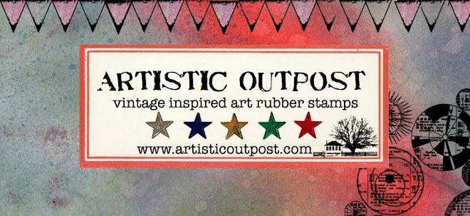 Artistic OutpostVintage Inspiration Stamps, Vintageinspir Stamps, Cards Blog, Filofaxsmash Online, Vintagee Inspiration Stamps, Outpost Stamps, Artists Outpost