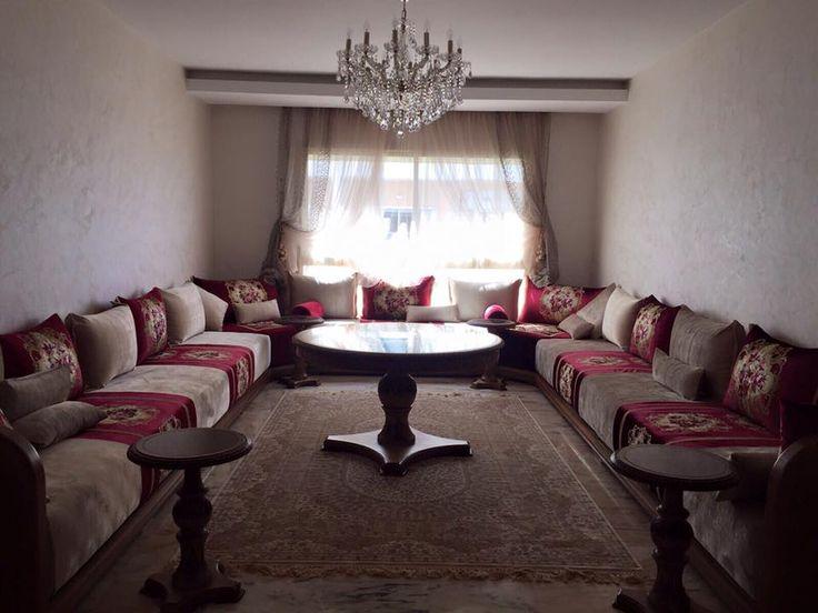 Les 69 meilleures images du tableau salons marocains sur for Nina bazar salon marocain