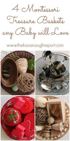 Montessori Treasure Baskets for Baby