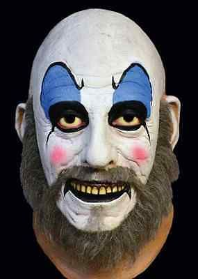Captain Spaulding Mask House 1000 Corpses Rob Zombie Halloween Costume Accessory