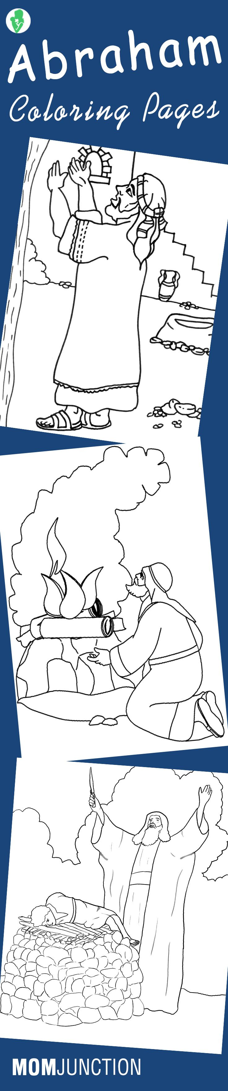 Top 10 Abraham Coloring Pages For Your Little Ones