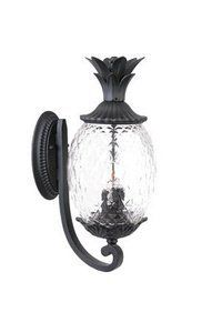 Acclaim Lighting Lanai Outdoor Sconce by Acclaim. $134.55. Size:Large, Finish:Matte Black, Glass:Clear Pineapple Cut, Light Bulb:(3)60w B10 Cand C Incand Lanai outdoor sconce.. Save 36% Off!