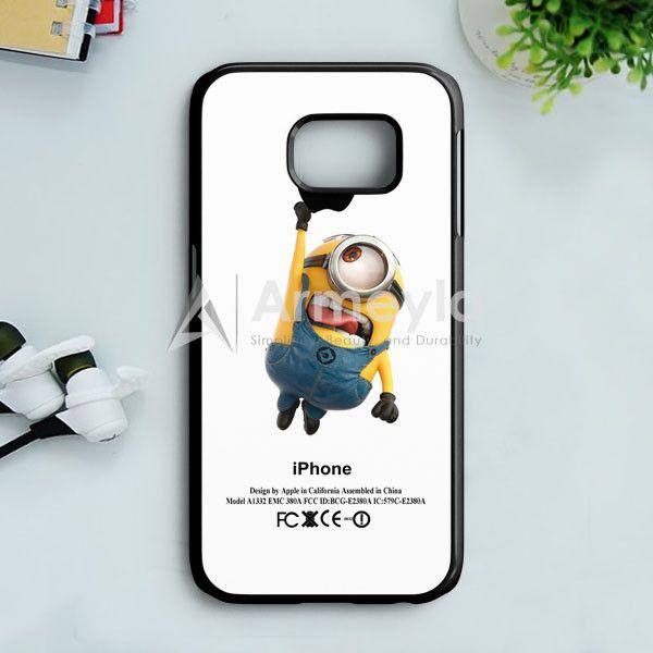Despicable Me Minion Avenger Samsung Galaxy S7 Edge Case | armeyla.com