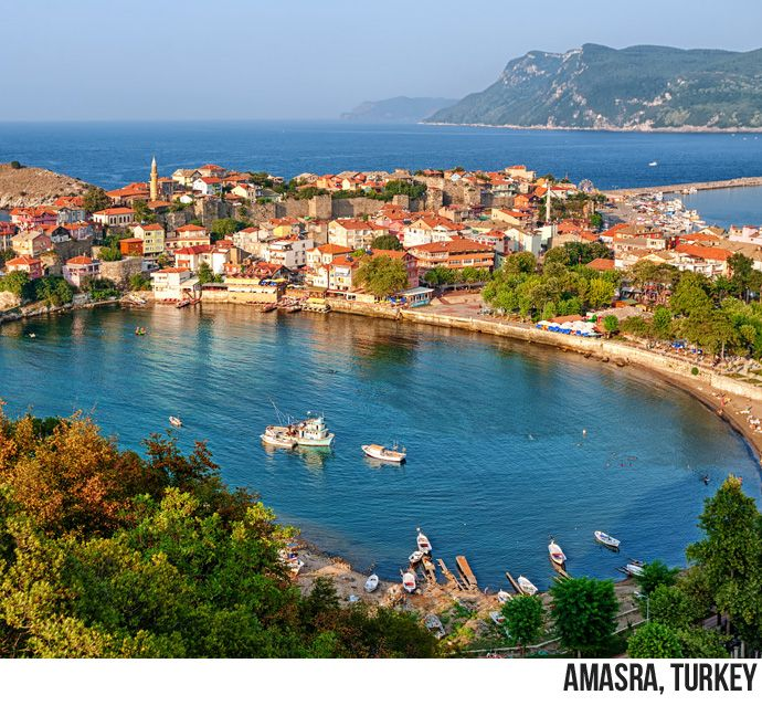 Daily Destination Dec 4, 2013: Amasra is a charming fishing town rich with history and outdoor activities. The town is built on a peninsula beneath the ramparts of a citadel built by the Byzantines. Amasra's Archaeological Museum houses local artifacts from Hellenistic through Ottoman periods. Contact our office to book your Turkish vacation! (504)304-9227
