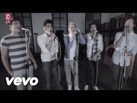 One Direction - One Thing (Acoustic Video) - YouTube UGHH THEYRE SO GOOD