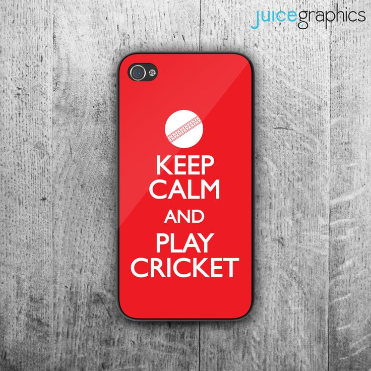 Keep Calm and play CRICKET #phone #case. Case For - #iPhone 4/4S - #iPhone 5/5S - ,  View more on the LINK: 	http://www.zeppy.io/product/gb/3/244556221/