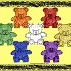 $1 Get Ready for math with bears, bears, bears.  This set is great for Smartboard lessons, printables, and worksheets.  They can be used to teach patt...Classroom Math, Kindergarten Fun, Kindergarten Math, Stuff, Schools, Teaching, Math Ideas, Grade Materials, Classroom Ideas
