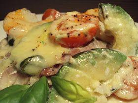 LCHF-bloggen: Torsk med Reker og Avocado