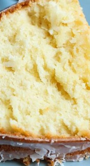 Coconut Cream Cheese Pound Cake.... *** See more at the photo link
