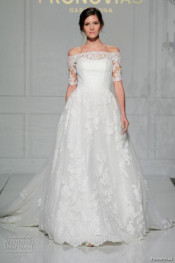 Pronovias 2016 Wedding Dresses — New York Bridal Runway ...