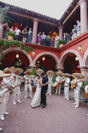 Mariachi Band Wedding Reception - This would be a cool idea for music - add some mexican flavor ;)