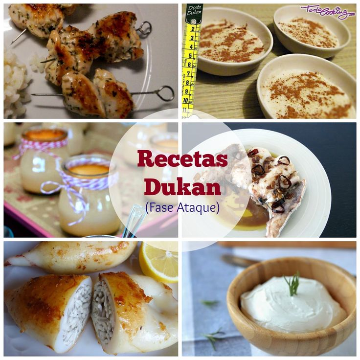 Cómo comer bien con la dieta Dukan. Recetas para la fase de Ataque.