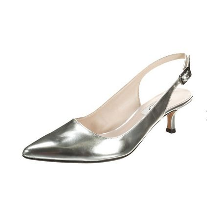 Zanpa Damen Heel Pumps Bow34 EU (sole length 22 CM)Beige