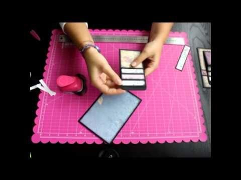 Album Scrapbooking - Técnica para hacer páginas perfectas - YouTube