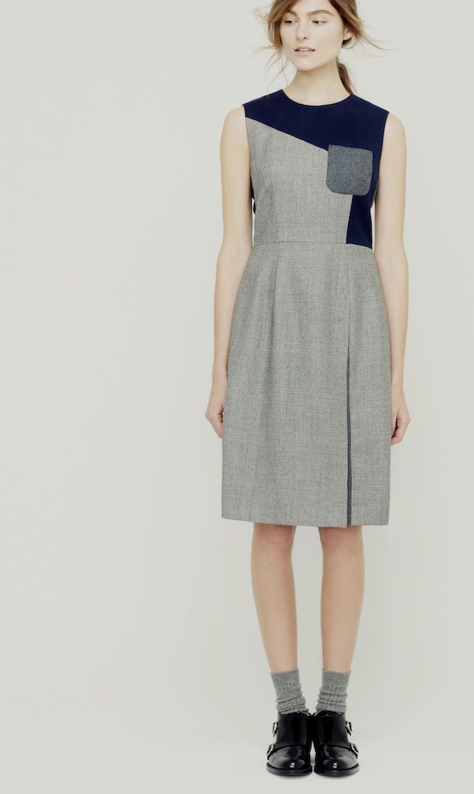 I'd like to stock up on moderate-ease, sleeveless or short-sleeved dresses. They're so versatile and multi-season.