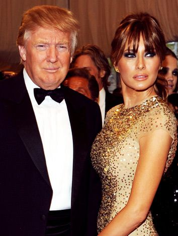 MELANIA TRUMP IS DONALD'S THIRD WIFE. THE TWO MARRIED IN A LAVISH CEREMONY IN JANUARY 2005 AND HAVE ONE SON TOGETHER (BORN IN 2006) NAMED BARRON WILLIAM  23 YEARS DIFFERENCE