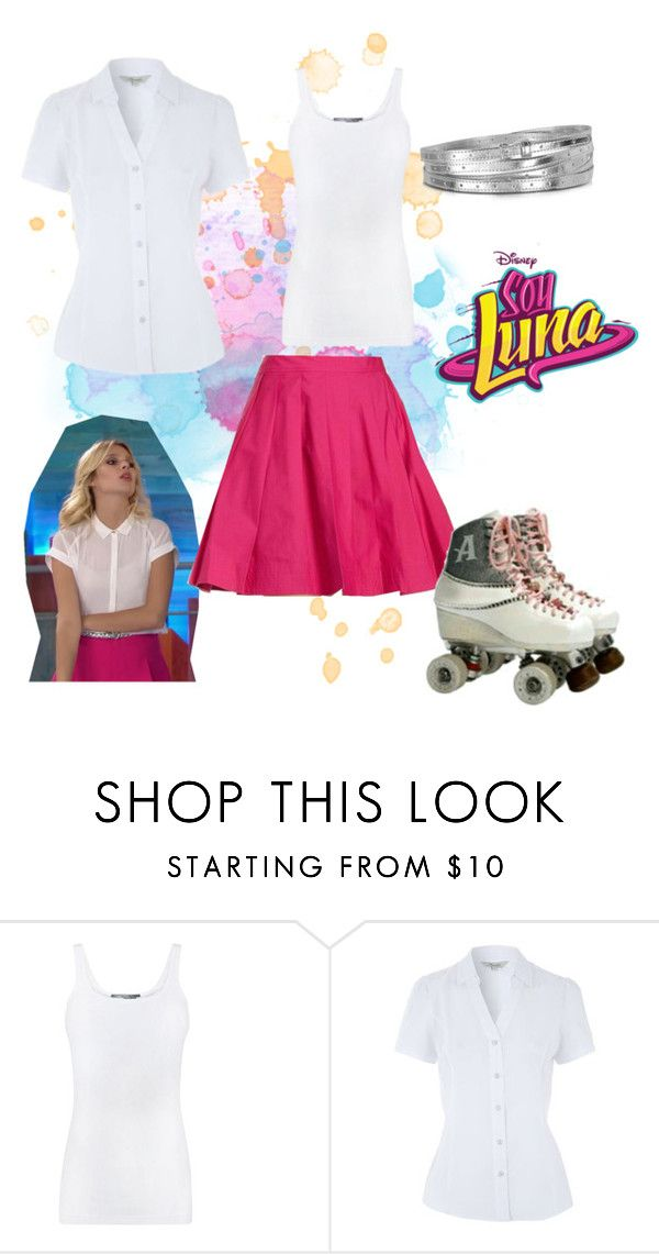 """""""soy luna"""" by maria-cmxiv on Polyvore featuring Vince and MM6 Maison Margiela"""