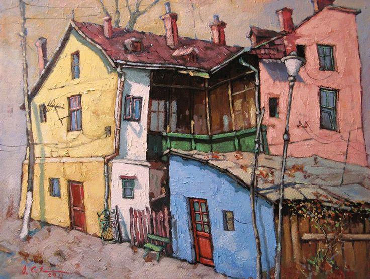 Case vechi la Dorna... (David Croitor)
