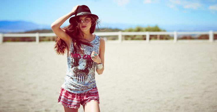 """BSK JUNE: """"Cool 'N' Western"""" #bsklookbook #teen #fashion #trends #bershka http://bers.hk/bsk"""