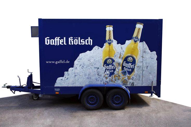 Leihen Sie einen Kühlwagen im Multi-Getränke Fachmarkt Sankt Augustin