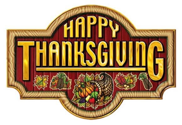 Happy Thanksgiving Sign - Decorations - Amols' Fiesta Party Supplies