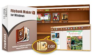 HTML5 Page Flip Software - Convert PDF to Digital Magazine of Page Turning Effect