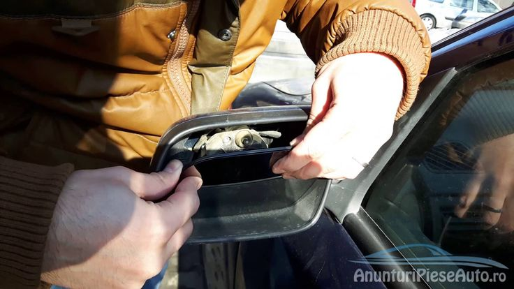 Replace side mirror cracked glass Chevrolet Astra