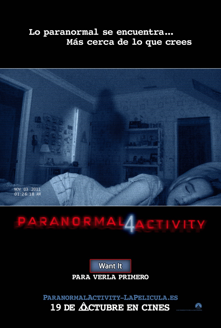 2012. Paranormal Activity 4