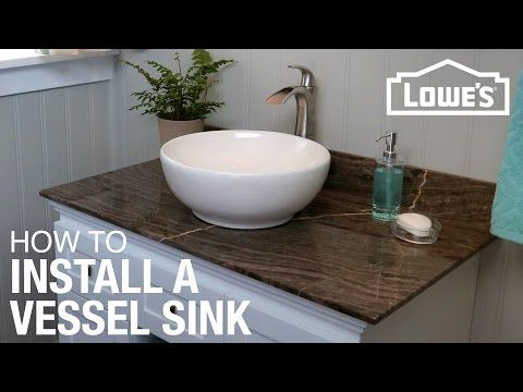 Photo Gallery Website Watch this video for steps on installing a vessel sink how to remove your old vanity and sink install the new one connect the plumbing and enjoy