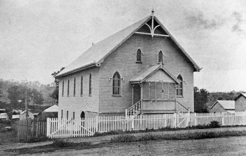 Boonah Methodist Church, 1907  Sheridan