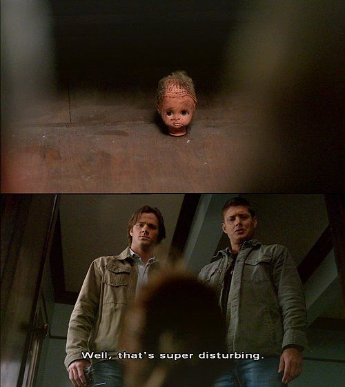 Yes. Yes it is. #supernatural