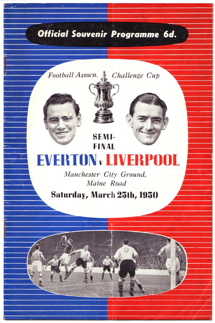 FA Cup semi-final v Everton at Maine Road. March 25 1950