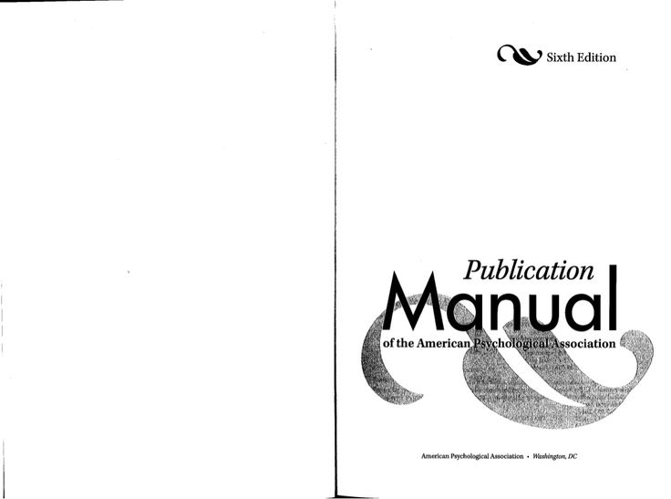 Apa manual 6th edition[1][1] by Elkana Rorio via