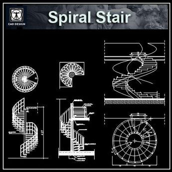 Fancy Free Spiral Stair Details