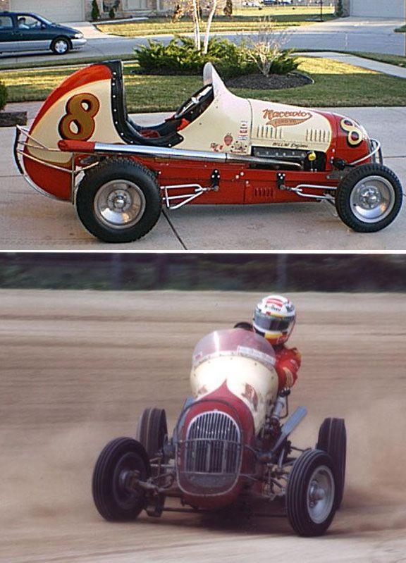 Midget car racing photos