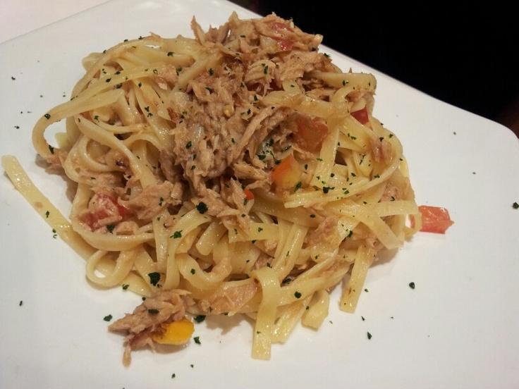 Hot tuna fetuccini by Pancious