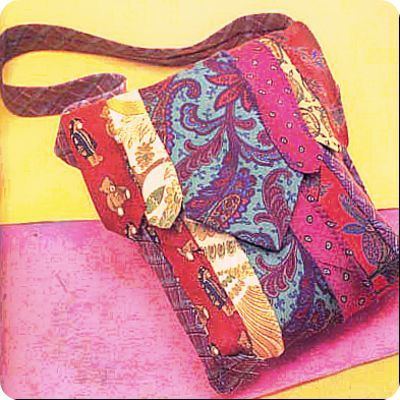 Use one tie as a focal point for your purse and co-ordinate the rest as you wish. Necktie purses are always one-of-a-kind and such fun to create! Sonya Style shows you the way with this handbag. ↓ Get the Tutorial ♥