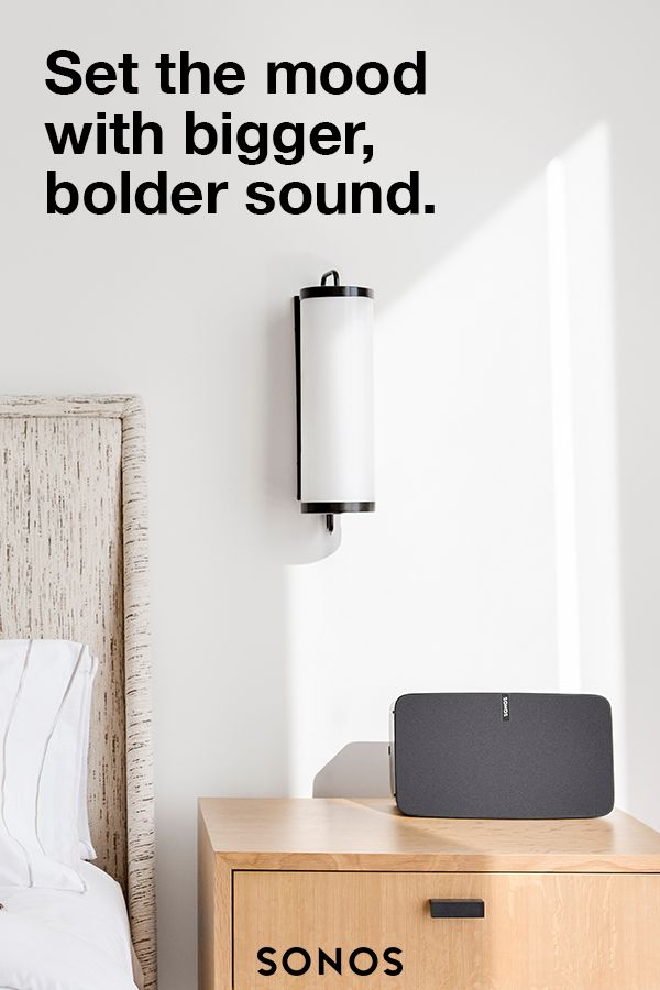 Inspire Creativity All Through Your Home With The Sonos PLAY:5. Bold. Pure