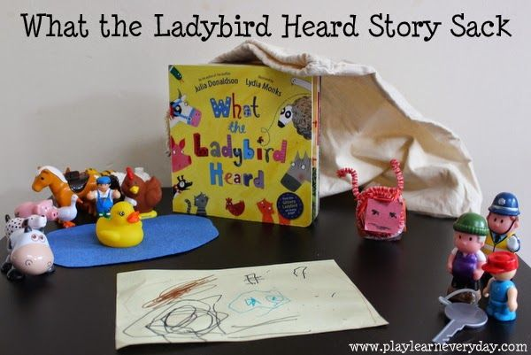 What the Ladybird Heard Story Sack